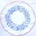カロチャ刺繍の図案(ハンガリー刺繍)