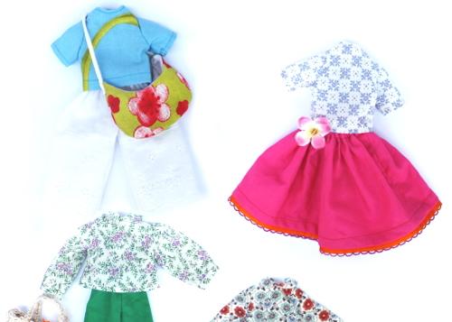 ポーズ人形の着せ替え用の服